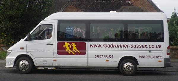 West Sussex Mini Bus Hire